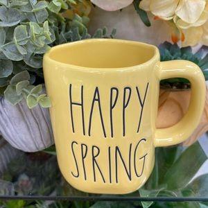 rae dunn happy spring
